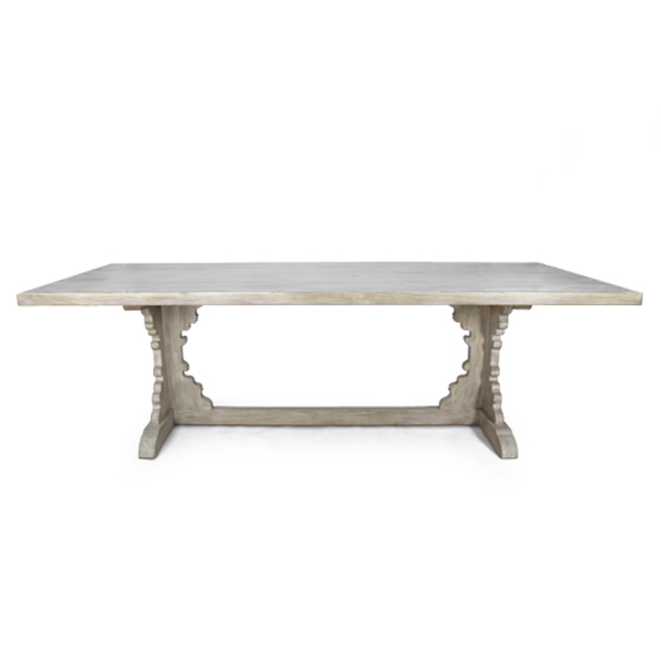 French Trestle Dining Table