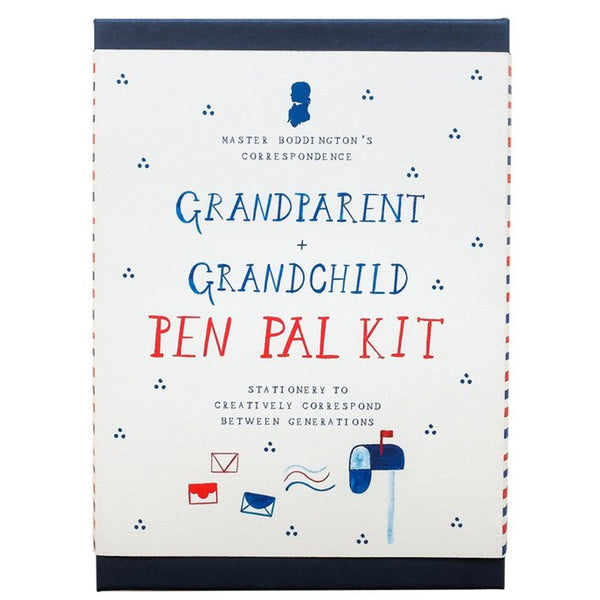 Mr.  Boddington's Grandparent + Grandchild Pen Pal Kit - Correspondence Box