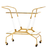 Jepson Bar Cart, Gold