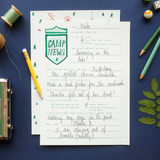 Mr.  Boddington's - NEW! LETTERS FROM CAMP - WRITING KIT