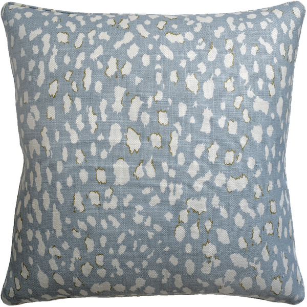 "Lynx Dot (Ciel) 22"" X 22"" Pillow"