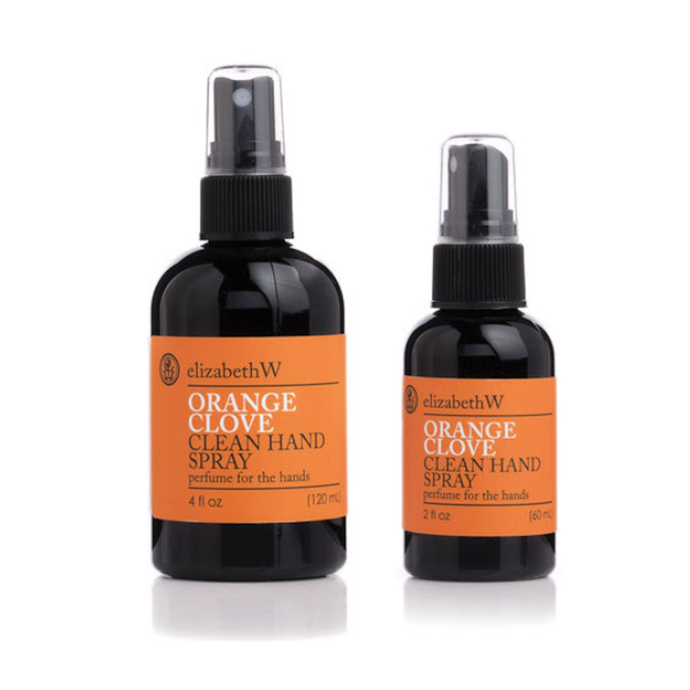 Orange Clove Clean Hand Spray by ElizabethW