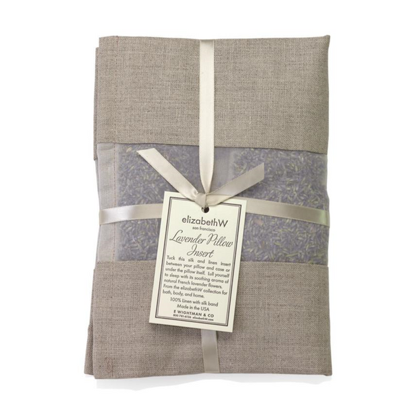 Lavender Pillow Insert Natural Linen