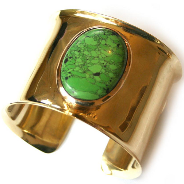 Stutts Cuff Green Torquoise