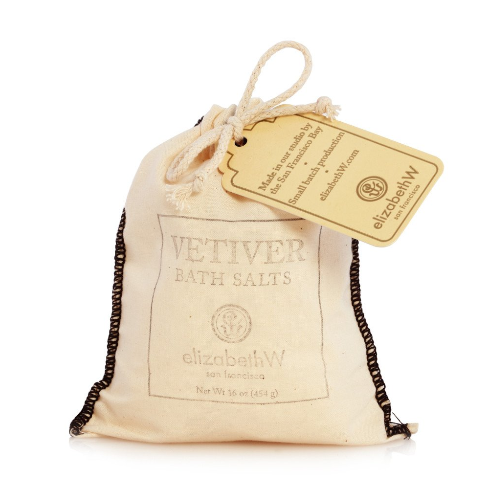 Vetiver Bath Salts in Bag by ElizabethW