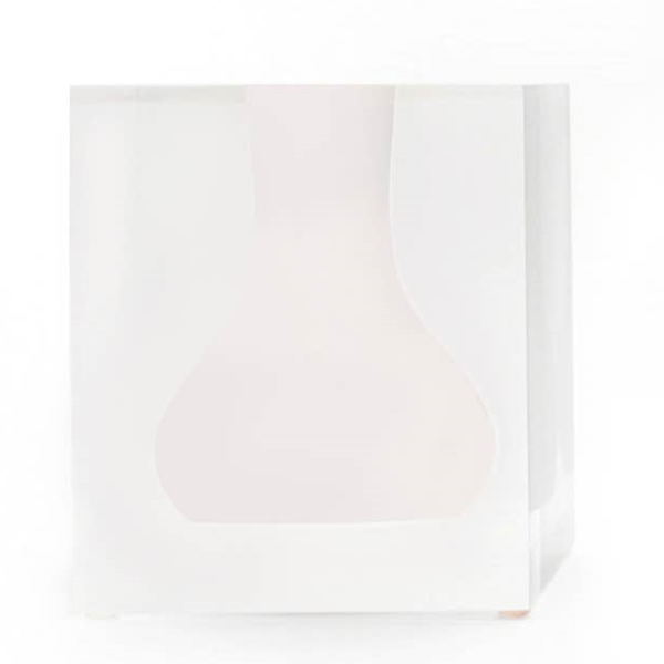 Walker Bud Vase Hamptons White