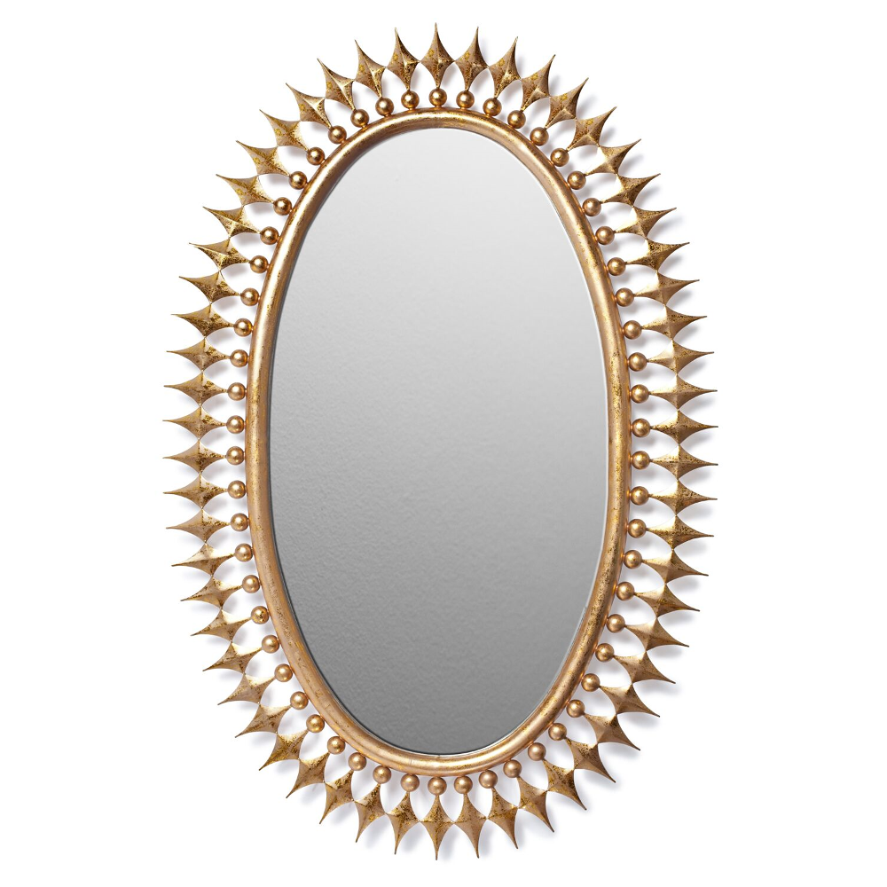 Emporium Home Stud Wellington Mirror, Gold