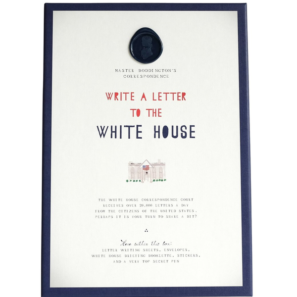 Mr.  Boddington's - NEW! Write to the White House Kit