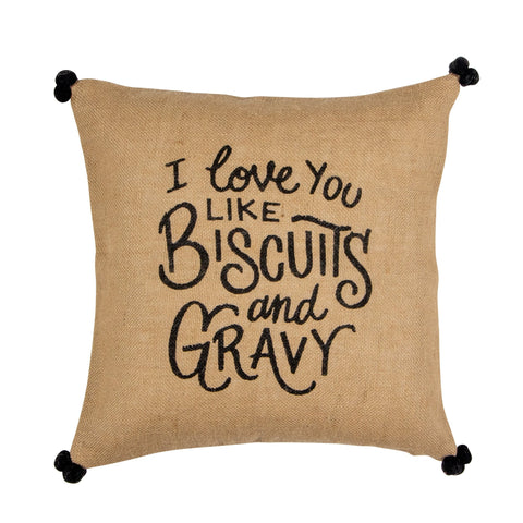 Biscuits Pillow