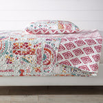 Ainsley Cotton Reversible Quilt Set