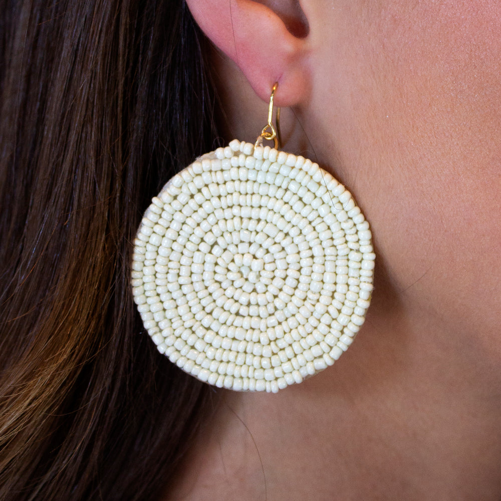 June Beaded Earrings