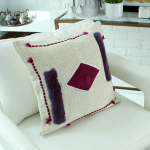 Billie Textured Cotton Pillow Cover
