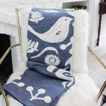 Suzette Love Birds Textured Throw