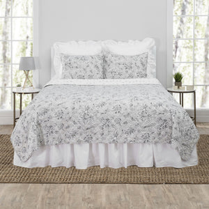 Carolene Reversible Cotton Quilt Set