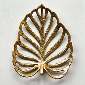 Decorative Cast Iron Leaf