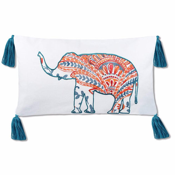 Edie Elephant Pillow Cover