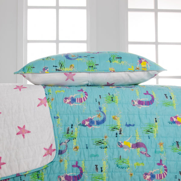 Maddie Mermaid Quilt Set