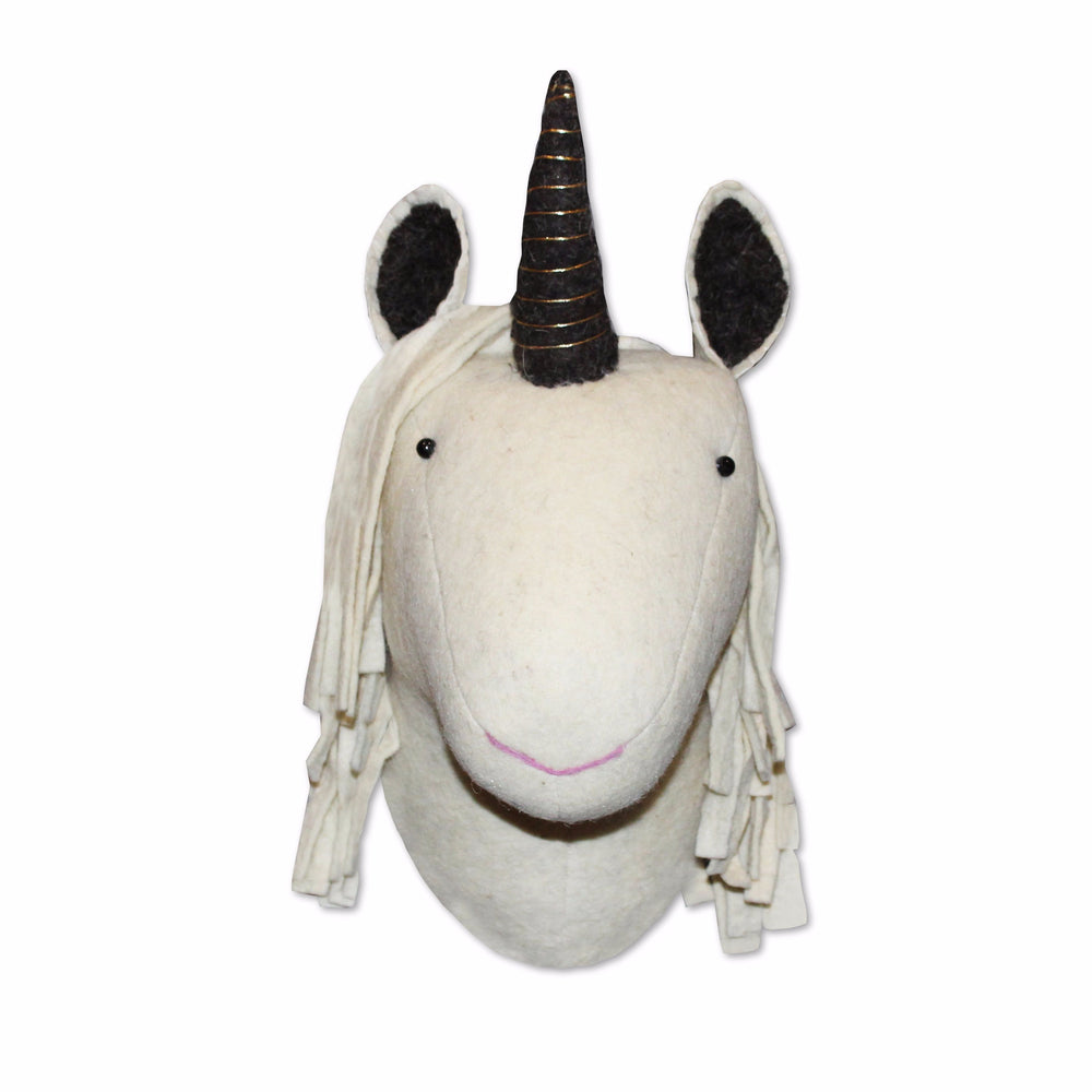 Eunice Unicorn Felt Head