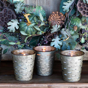 Autumn Gatherings, Olive Bucket Candle - Park Hill
