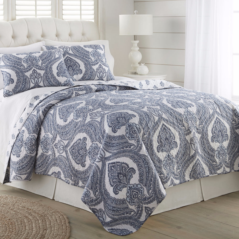 Geraline Quilt Set Blue Multi