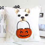 Ghost Dog Pillow Cover