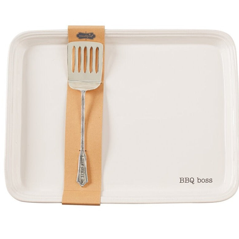 Grill 2 Piece Tray Set