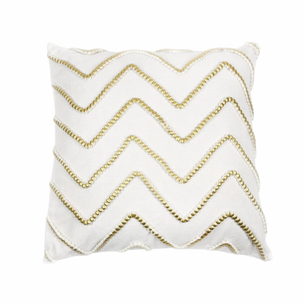 Gwenyth Pillow Cover Ivory/Gold