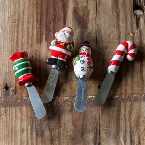 Holiday Spreaders, Set of 4