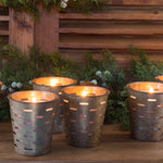 Home For The Holidays, Olive Bucket Candle - Park Hill