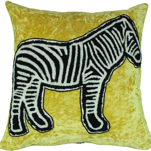 Zebra Icon Pillow