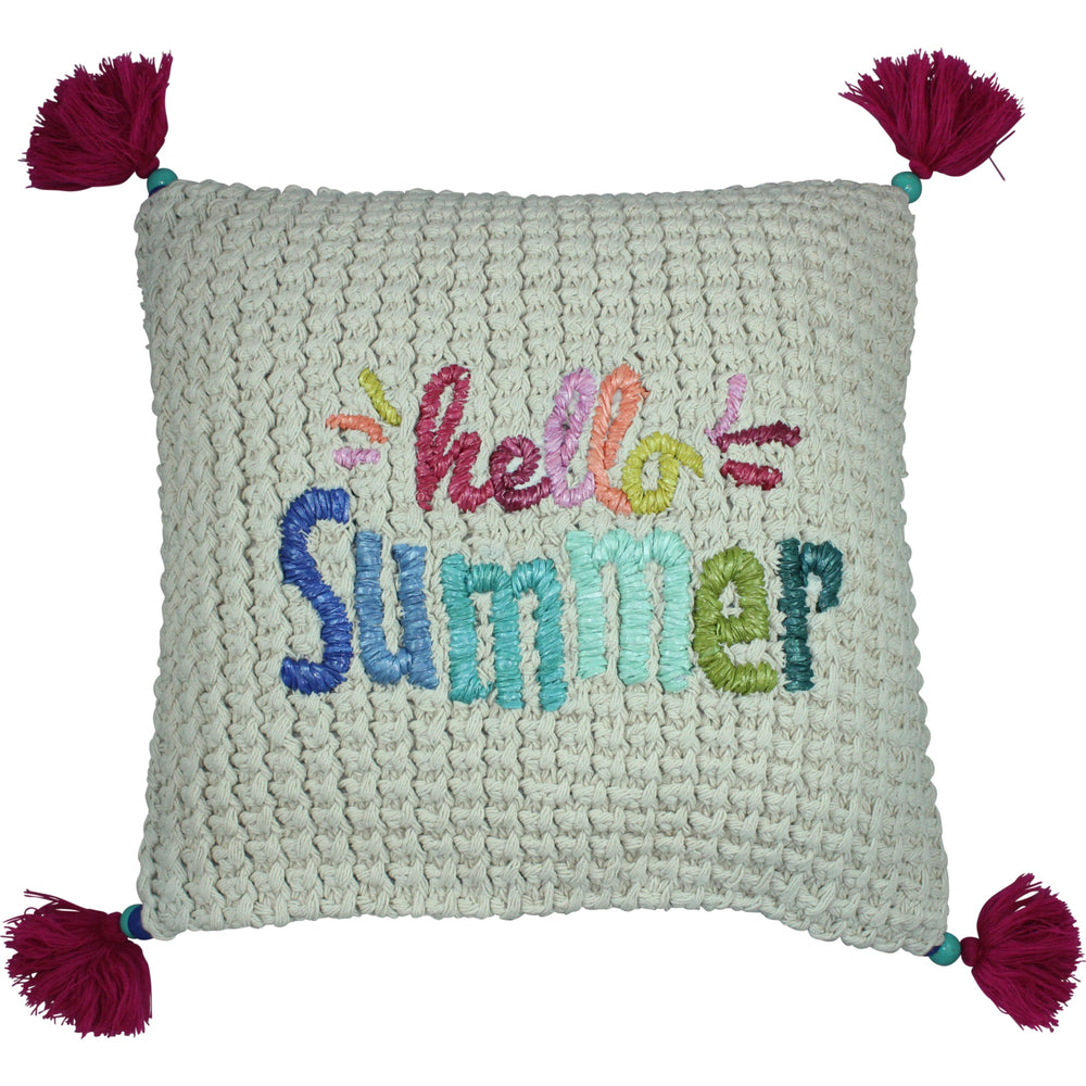 Hello Summer Pillow Cover