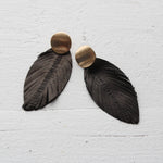 Ellie Feather Earrings
