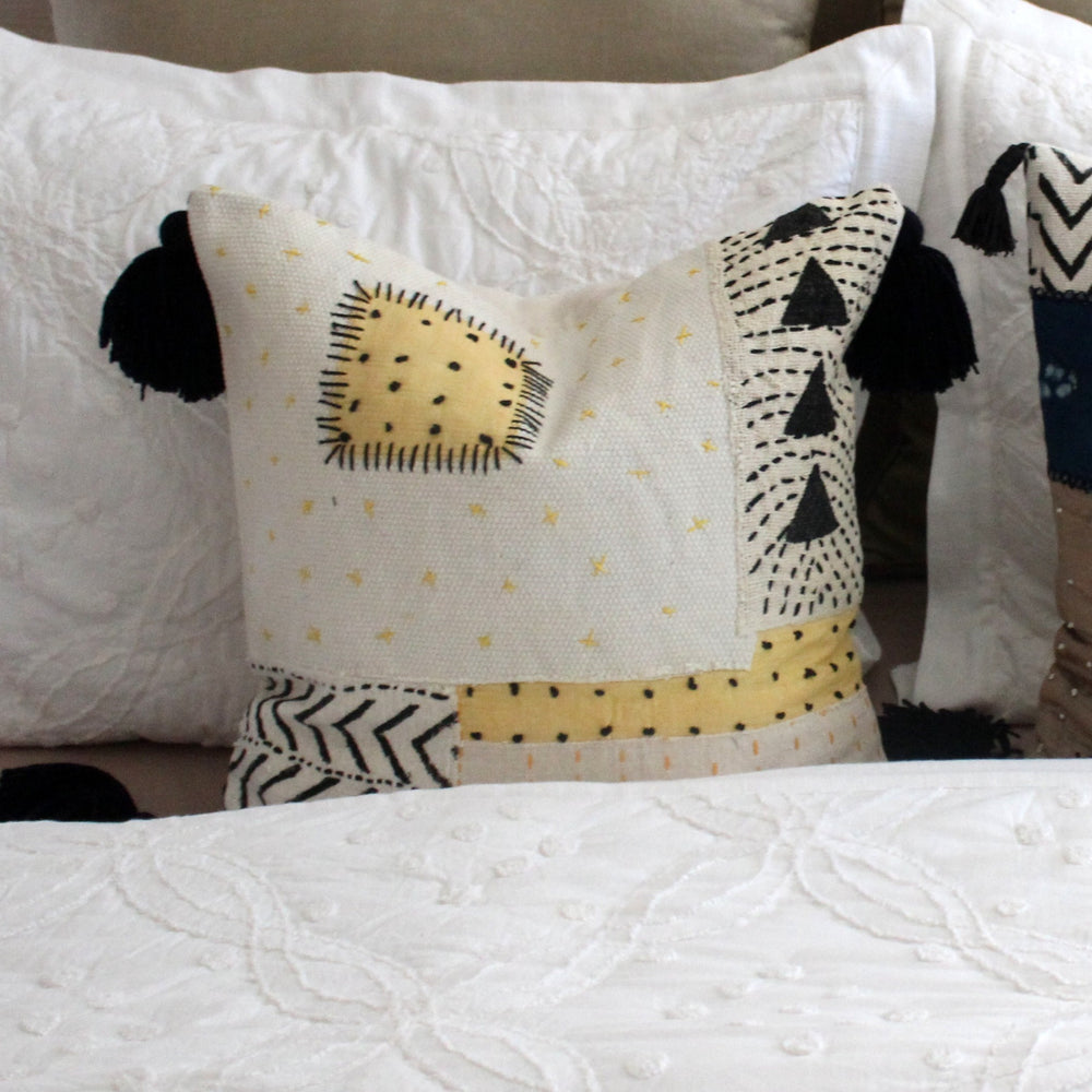 Keene Patchwork Pillow Cover