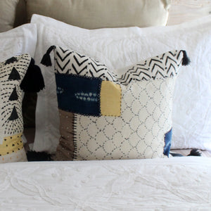 Leone Patchwork Pillow Cover