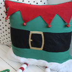 3D Elf Leg Pillow Cover