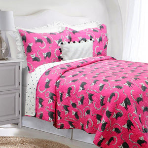 Lennie Lemur Super Soft Cotton Quilt Set