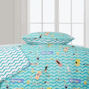 Make A Splash Super Soft Quilt Set