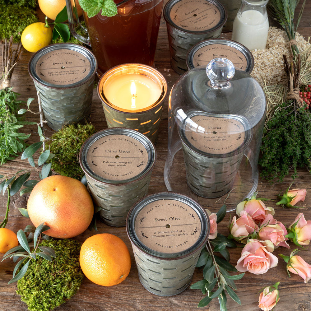 Sweet Olive, Olive Bucket Candle - Park Hill
