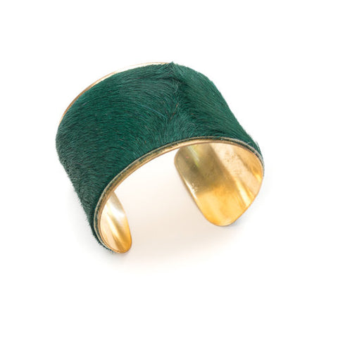Parker and Hyde- Green Cuff