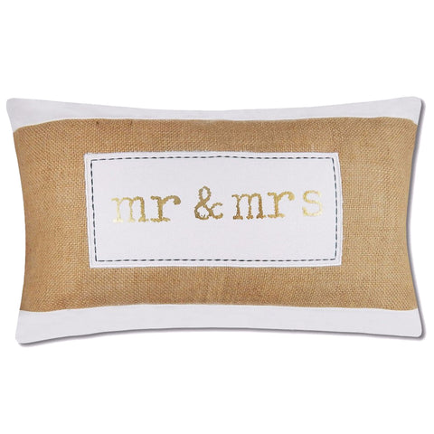 Maybelle Pillow Cover Burlap