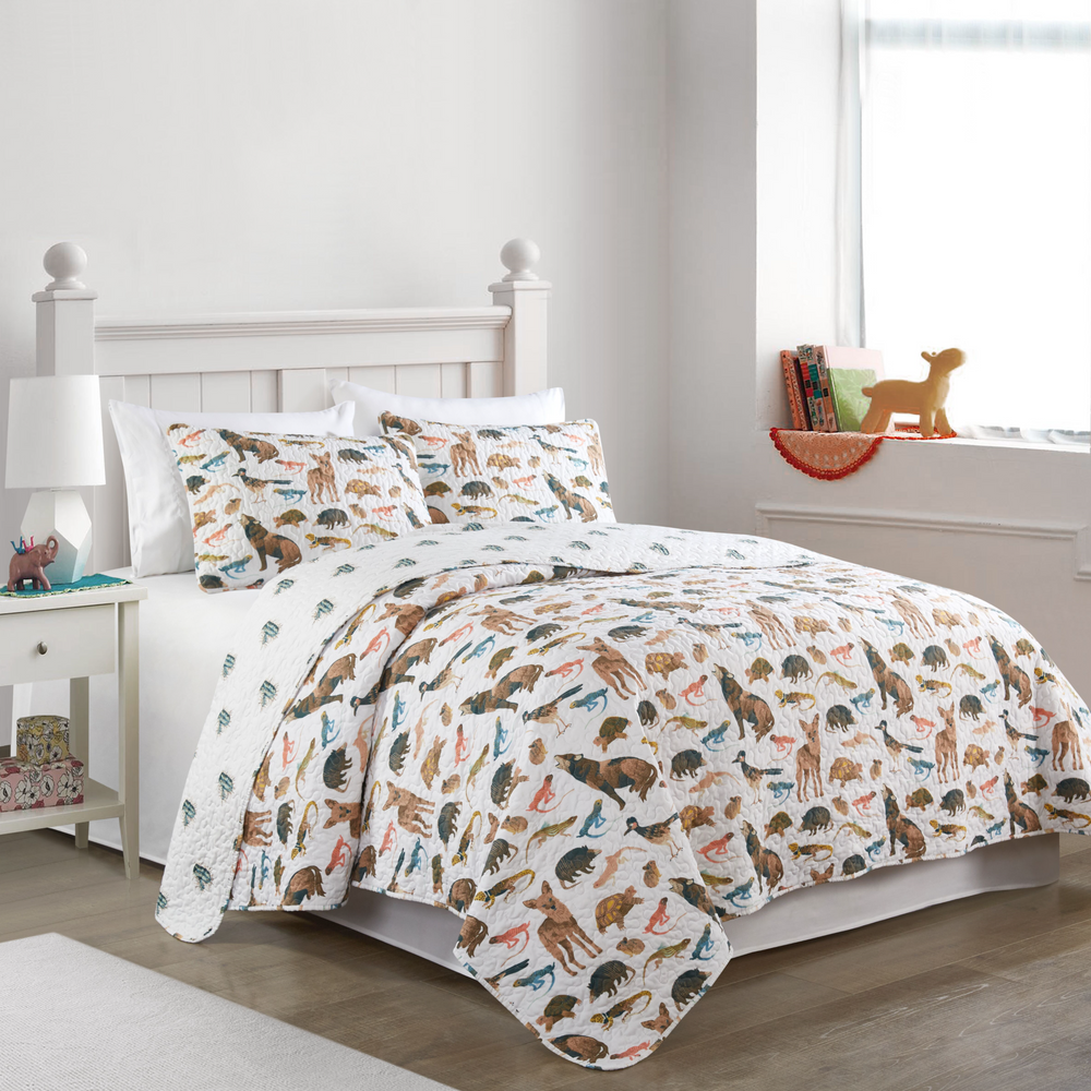 Desert Garden Super Soft Quilt Set