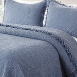 Rochelle Quilt Set - Blue