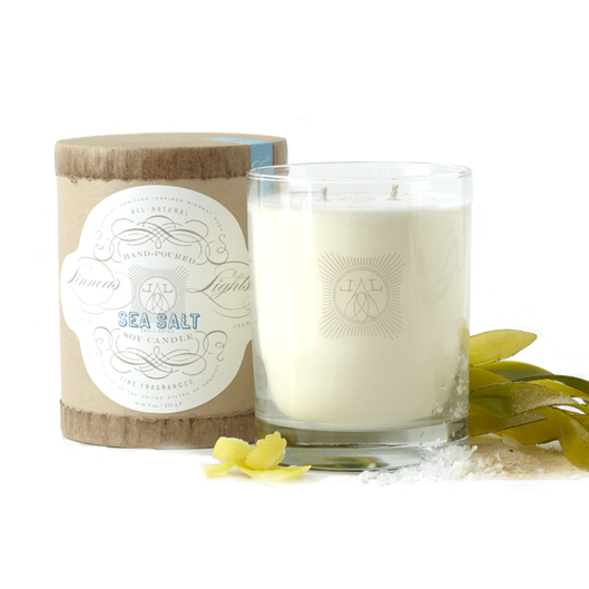 Sea Salt, 2-wick Candle - Linnea's Lights