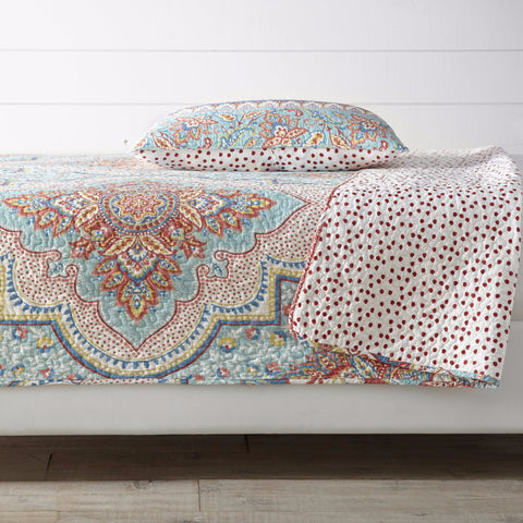 Talluah Quilt Set Bright Multi