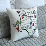 Texas State Pillow Cover