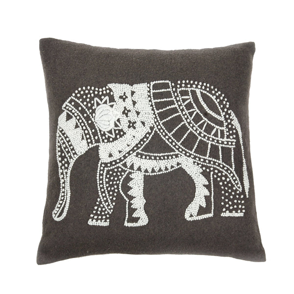Tina Pillow Cover Gray