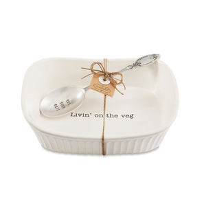 Veggie Serving Dish - 2 Piece