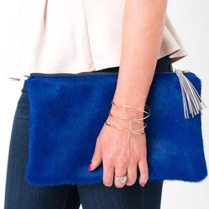 Parker and Hyde: Claire Clutch-Navy