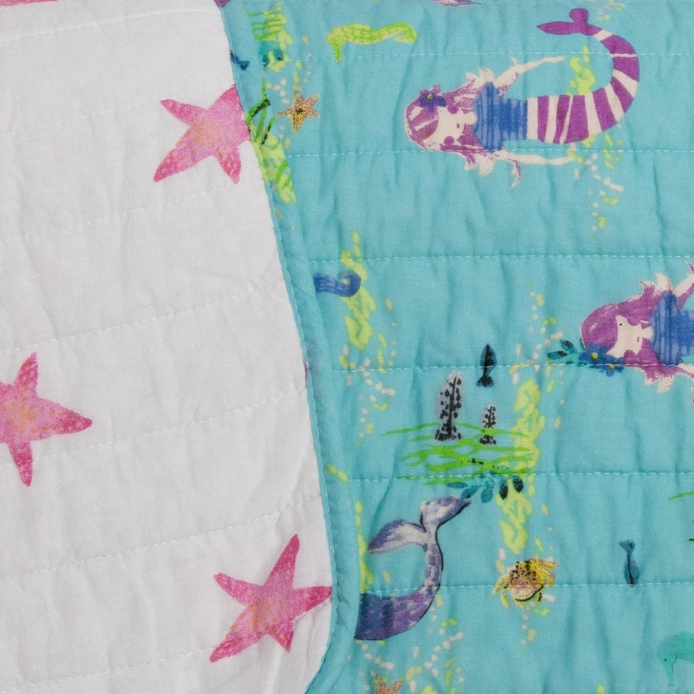 Maddie Mermaid Super-Soft Cotton Quilt Set