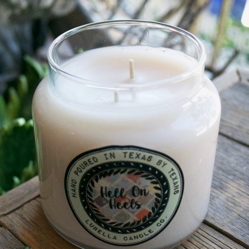 Hell on Heels Candle - Lubella Candle Co.